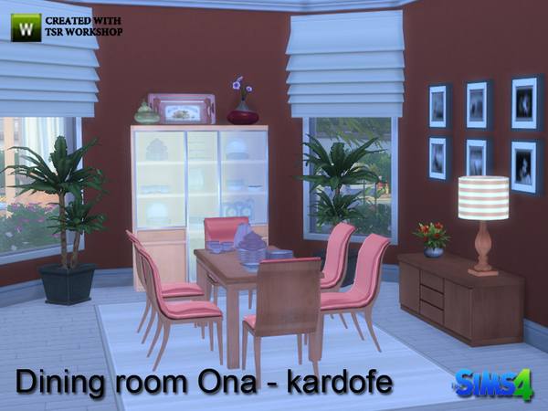 Ona diningroom by kardofe at TSR image 9510 Sims 4 Updates