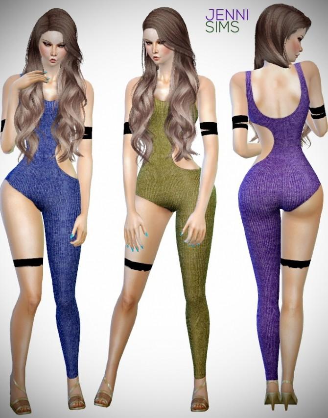 Body Jumpsuits at Jenni Sims image 9516 670x852 Sims 4 Updates