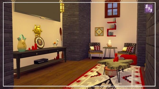Southwest Living Room at Shenice93 image 956 670x377 Sims 4 Updates