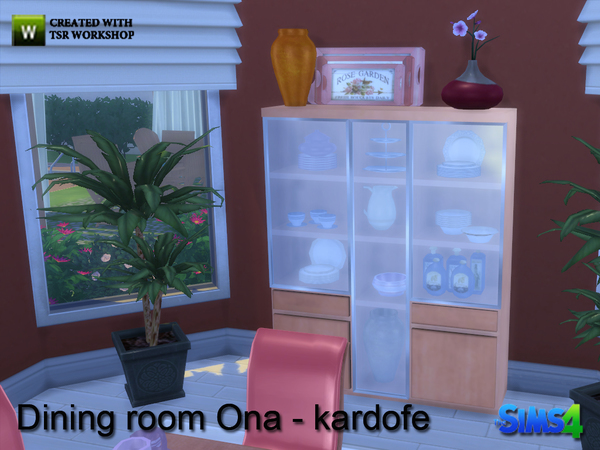 Ona diningroom by kardofe at TSR image 9610 Sims 4 Updates
