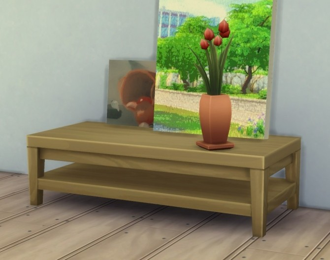 Painting Wall Holder Lean Anywhere by plasticbox at Mod The Sims image 9617 670x528 Sims 4 Updates