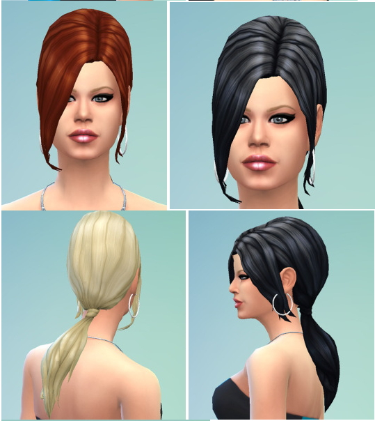 Teased Hair at Birksches Sims Blog image 964 Sims 4 Updates