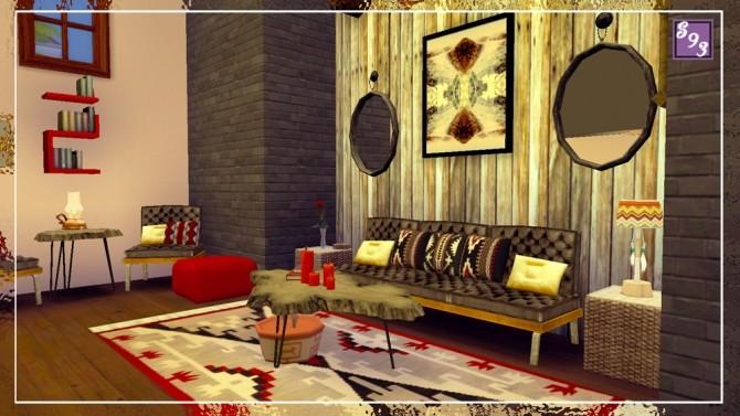 Southwest Living Room at Shenice93 image 966 670x377 Sims 4 Updates
