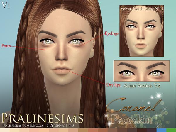 Caramel Faceskin by Pralinesims at TSR image 970 Sims 4 Updates