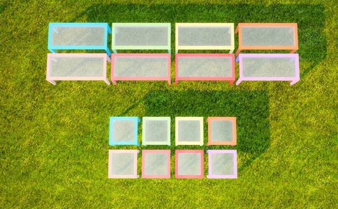Sims 4 Dinning Set Recolors at Pixelsimdreams