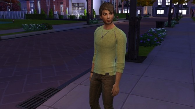 Sims 4 Gerry by Elena at Sims World by Denver