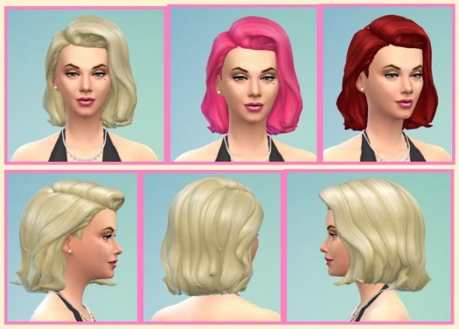 Sims 4 Marilyn Hair at Birksches Sims Blog