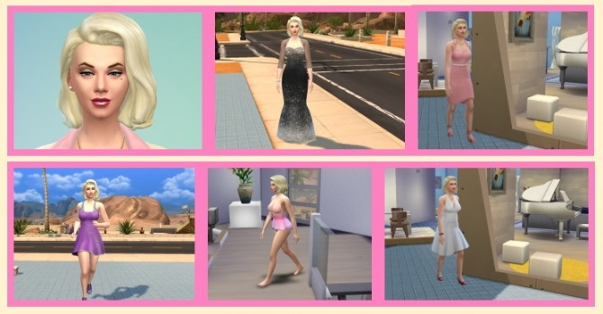 Sims 4 Marilyn Monroe at Birksches Sims Blog
