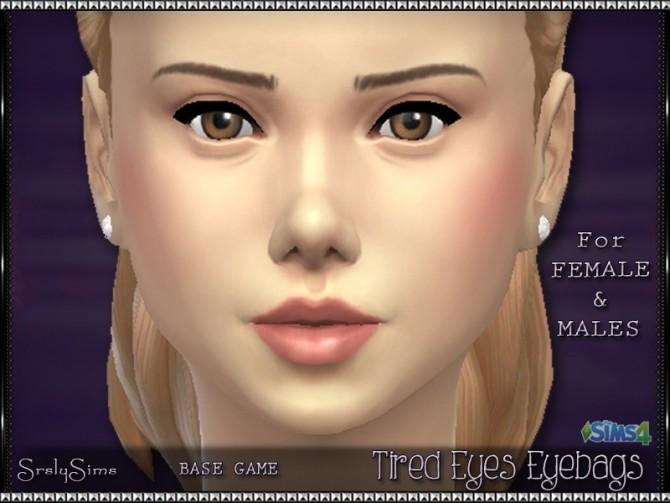 Tired Eyes Eyebags at SrslySims image 1070 670x503 Sims 4 Updates