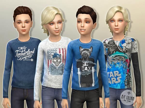 Sims 4 Designer Shirt P01 by lillka at TSR
