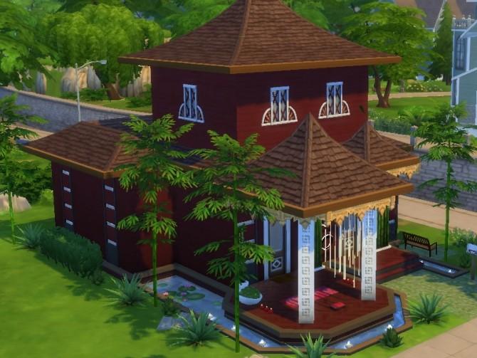 Sims 4 Feng Shui House II at Tatyana Name