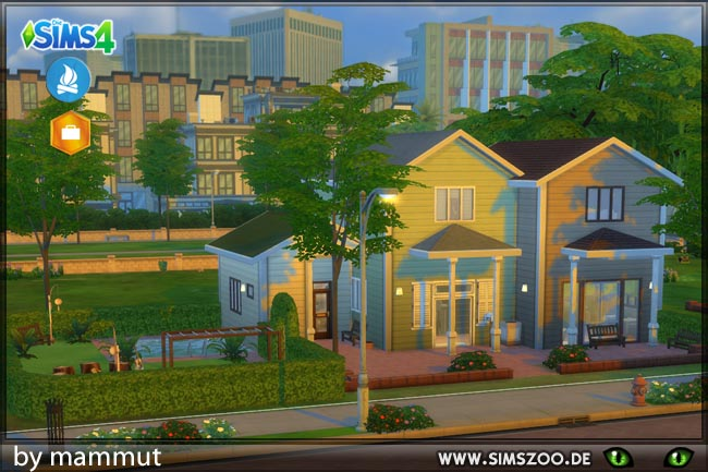 Newcrest Home1 by mammut at Blacky's Sims Zoo image 1098 Sims 4 Updates