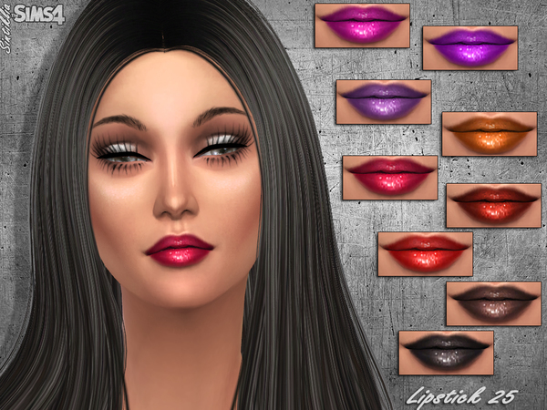 Sims 4 Lipstick 25 by Sintiklia at TSR