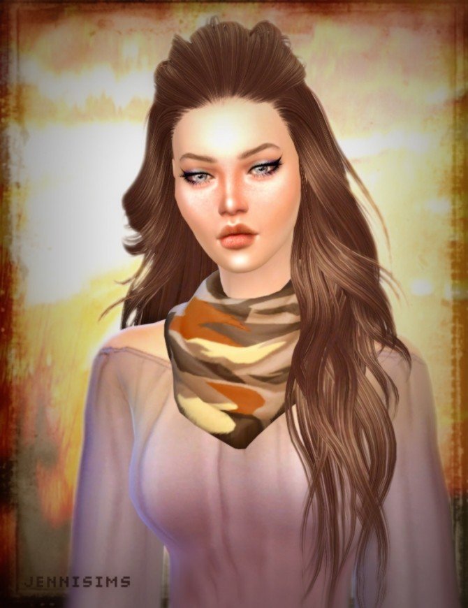 Necklace Scarf at Jenni Sims image 11119 670x870 Sims 4 Updates