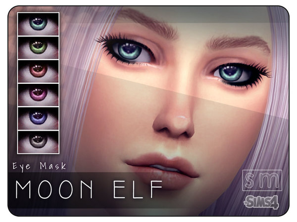 Moon Elf Eye Mask by Screaming Mustard at TSR image 1119 Sims 4 Updates
