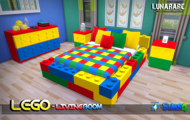 Lego Bedroom Set At Lunararc 187 Sims 4 Updates