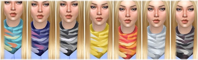 Necklace Scarf at Jenni Sims image 11218 670x204 Sims 4 Updates