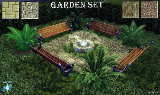 Sims 4 Garden Set at 27Sonia27