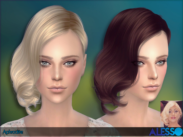 Aphrodite Hair by Alesso at TSR image 1150 Sims 4 Updates