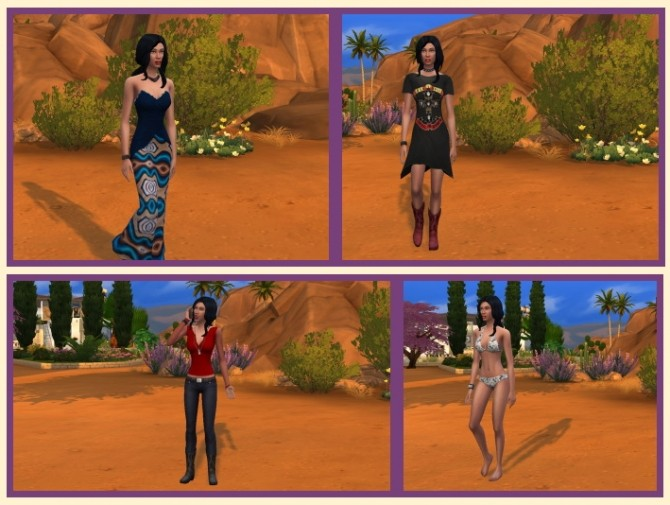 Sims 4 Gina Torres at Birksches Sims Blog