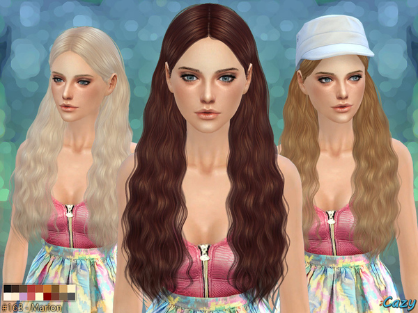Marion Female Hair by Cazy at TSR image 1200 Sims 4 Updates