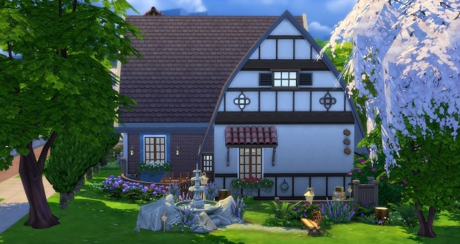 Sims 4 Tinker Bell house at Studio Sims Creation