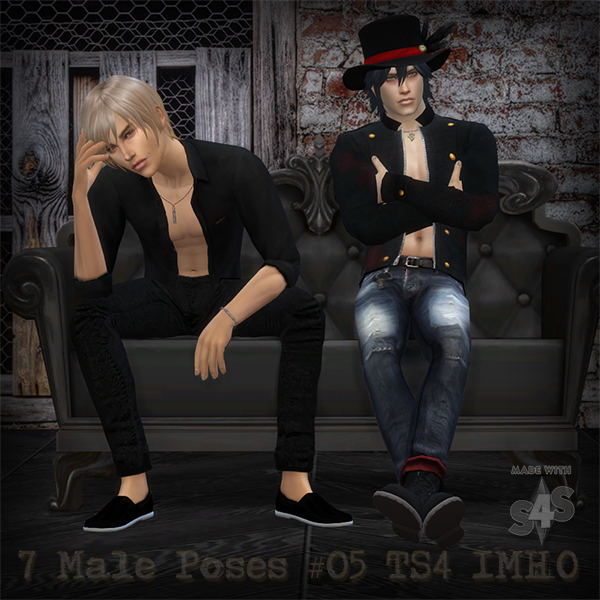 7 Male Poses #05 at IMHO Sims 4 image 12121 Sims 4 Updates