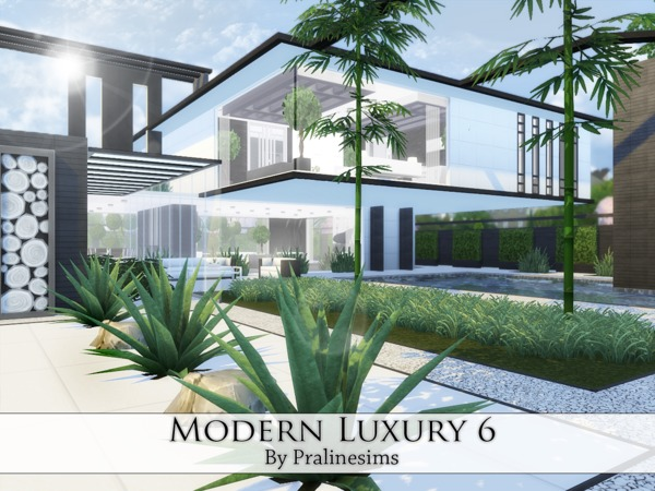 Modern Luxury 6 House By Pralinesims At TSR Sims 4 Updates