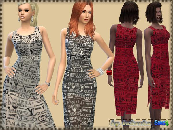 Sims 4 Dress Brands by bukovka at TSR