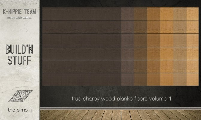 7 Authentic Wood Floors vol. 1 at K hippie image 12220 670x402 Sims 4 Updates