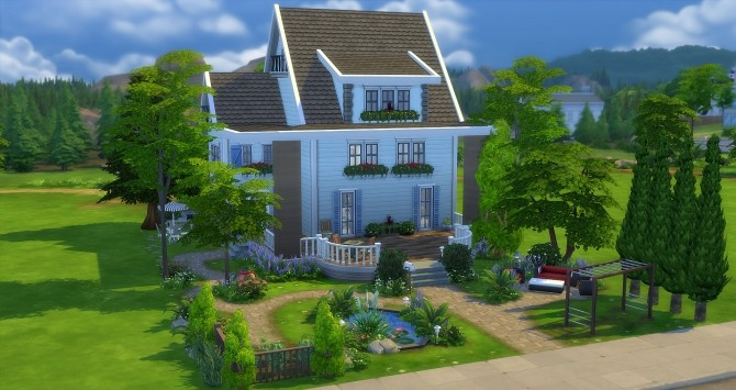 Anthea house at Studio Sims Creation image 1241 670x355 Sims 4 Updates