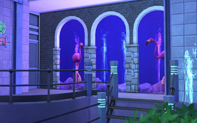 Sims 4 Blue Night Club at Imadako