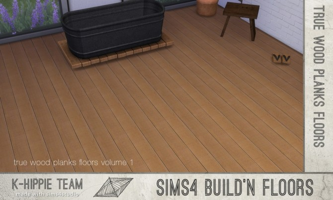 7 Authentic Wood Floors vol. 1 at K hippie image 12420 670x402 Sims 4 Updates
