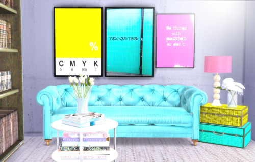 Designer posters 2 + industrial wallpaper collection at Hvikis image 1243 Sims 4 Updates