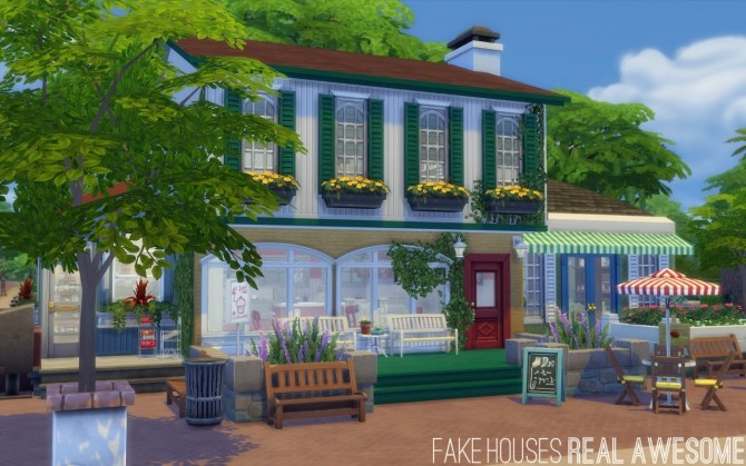 Magnolia market at fake houses real awesome sims 4 updates for Awesome sims