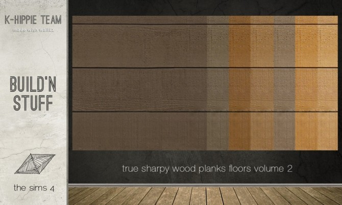 7 Authentic Wood Floors Vol 2 At K Hippie Sims 4 Updates