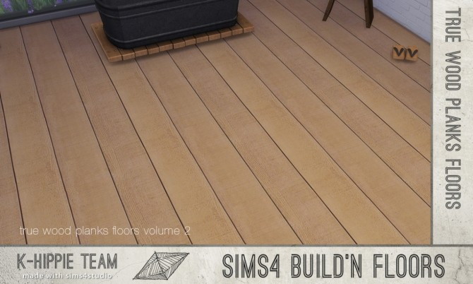 Sims 4 7 Authentic Wood Floors vol. 2 at K hippie