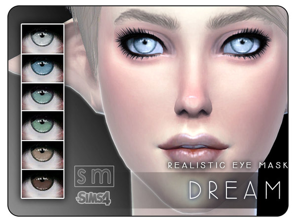Sims 4 Dream Realistic Eye Mask by Screaming Mustard at TSR