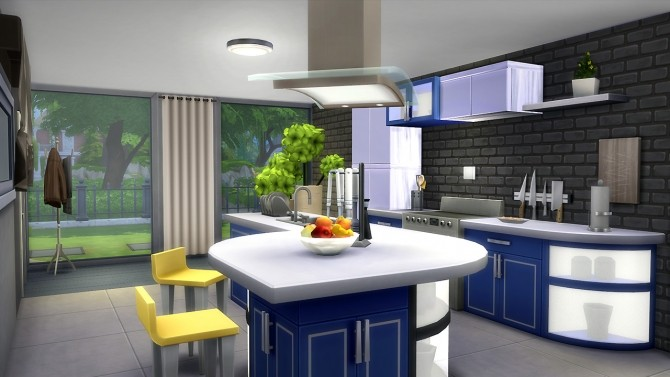 Sims 4 Mado kitchen at Fezet's Corporation