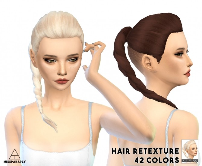 Wildlyminiaturesandwich Bittersweet hair retexture at Miss Paraply image 1325 670x550 Sims 4 Updates