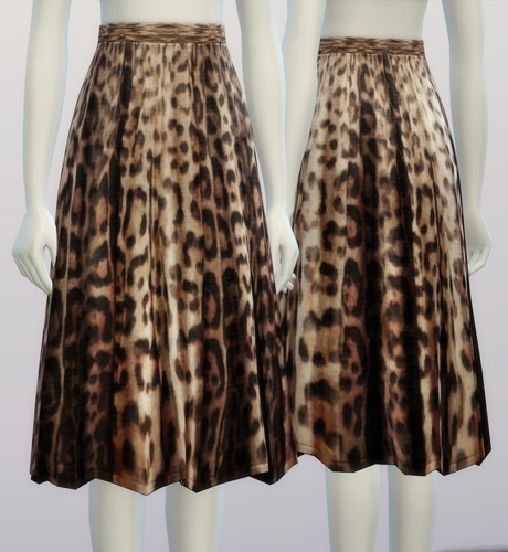 Sims 4 The Essential M skirt at Rusty Nail
