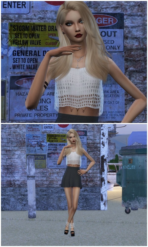 Sims 4 Cool Pose in Game and Cas by Dreacia at My Fabulous Sims