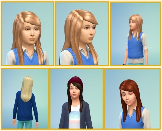 Long Straight Hair for Boys at Birksches Sims Blog image 13412 670x539 Sims 4 Updates