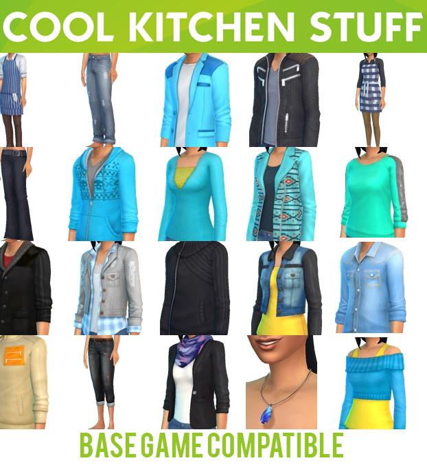 Sims Stuff 4 Kitchen: Base Game Compatible Cool Kitchen Stuff At Jenni Sims