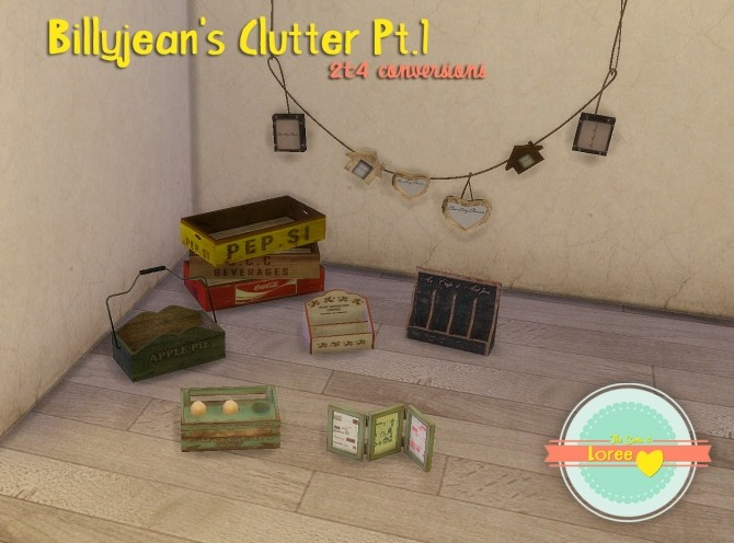 Billyjean's Clutter Pt.1 at Loree image 1366 670x496 Sims 4 Updates
