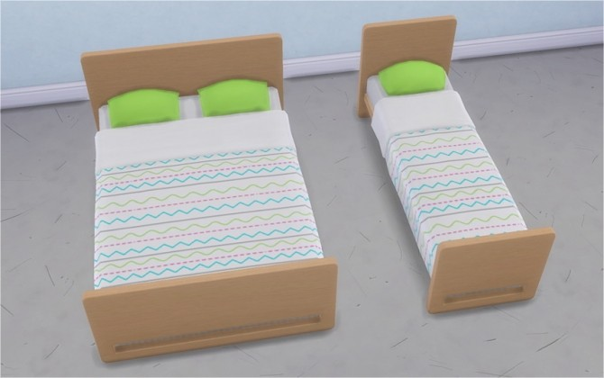 Sims 4 Mattresses with Patterns at Veranka