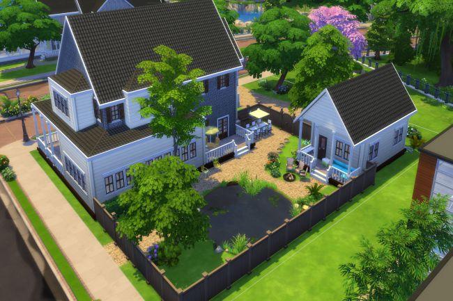 Sims 4 Einzugsfertig3 house by ChiLLi at Blacky's Sims Zoo