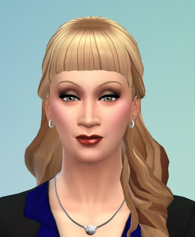 cute haircuts with bangs halfup with bangs at birksches sims 187 sims 4 1422 | 1422 670x813