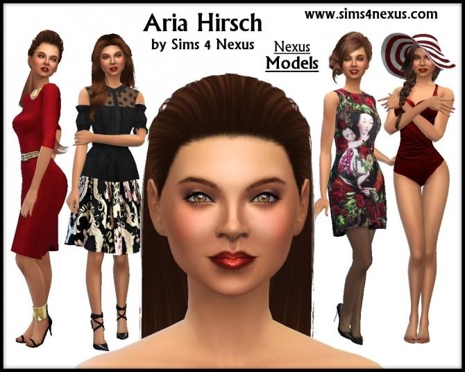 Sims 4 Aria Hirsch by Samantha Gump at Sims 4 Nexus