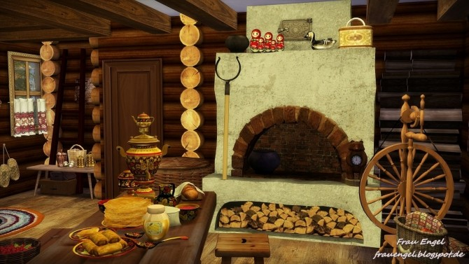Sims 4 Russian House at Frau Engel